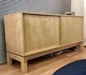 Ikea Birch sideboard