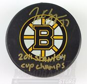 2011 Boston Bruins Puck