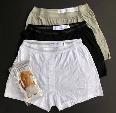 Calvin Klein 3 Pack Men M L XL Classic Boxer Briefs Cotton Underwear Shorts NEW