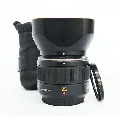 # Panasonic 25mm, f/1.4 ASPH Aspherical Lens For Micro Four Thirds + BW filter