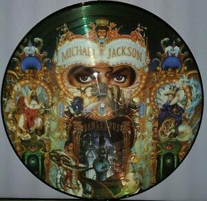 MICHAEL JACKSON -  DANGEROUS, 180 GRAM PICTURE DISC VINYL LP RECORD NEW IMPORT