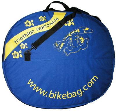 Bike Transport Cover (Bike Bag Dual (2) Bicycle Wheel Cover Bag for Transportation bikebag.com )