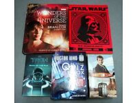 Books Job Lot (x 8) - Space and Sci Fi - Dr Who / Tron/ Star Wars /Brian Cox Universe Ex Cond