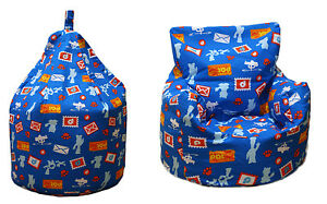 CHILDREN'S DISNEY CHARACTER BEAN BAG CHAIRS FOR KIDS