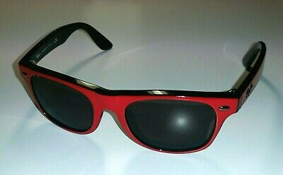 Used Ray-Ban JR. RJ 9035-S 162/71 Red Frame Kids Prescription (Ray Ban Girl Sunglasses)