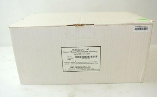 Microseal 96 Skirted V-Bottom Polypropylene Microplates, case of 50 MSP9641