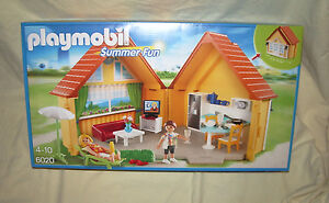 playmobil 6020 coffret transportable maison de vacances. Black Bedroom Furniture Sets. Home Design Ideas