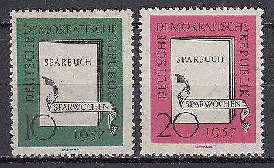 DDR 1957 Mi. Nr. 598-599 Postfrisch ** MNH