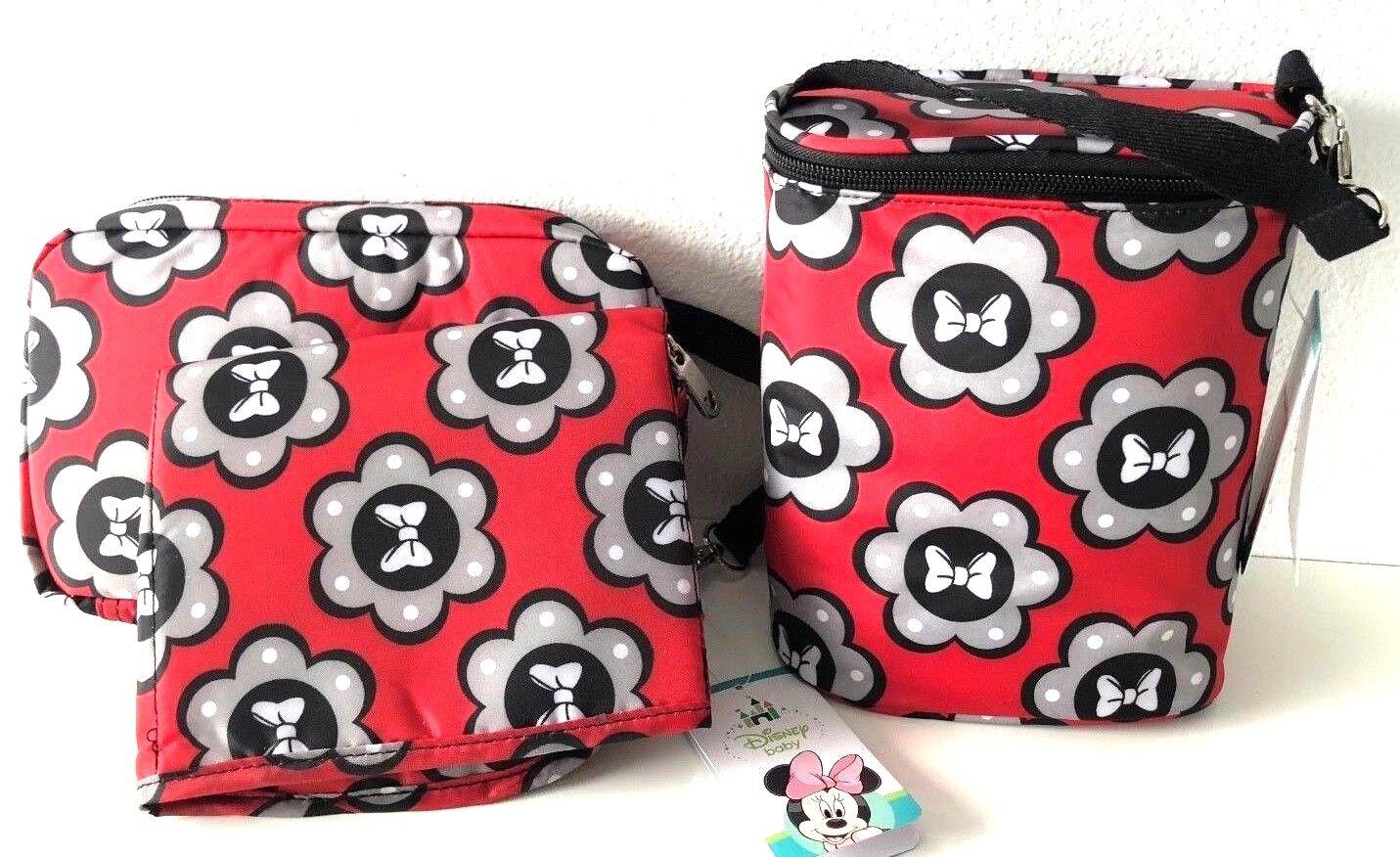 Disney Baby Duel Bottle Holder Bag & Diaper Shuttle Changing