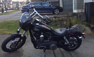 2015 Harley Davidson Street Bob Denim Black