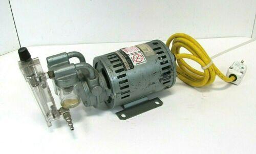 GE GAST 1531-107B-G288X (5KH10GGR28S) HP 1/10 RPM 3450/2850 PH 1 Vacuum Pump