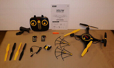 Syma X5UW Wifi FPV 2.4Ghz RC Drone Quadcopter with 720P HD Camera