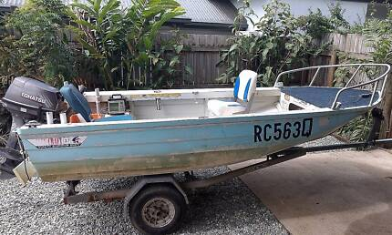 Ally craft dinghy runabout