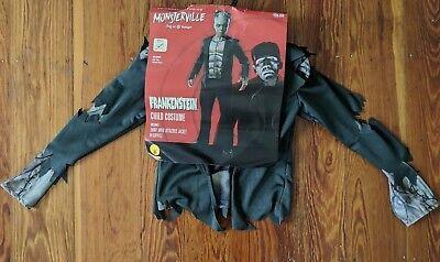 MONSTERVILLE FRANKENSTEIN MONSTER CHILD BOY COSTUME size SMALL UNIVERSAL STUDIOS](Frankenstein Costume Kids)