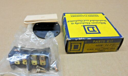 1 NIB SQUARE D 9998-PC-7 9998-PC7 9998PC7 CONTACT KIT FOR PRESSURE SWITCH
