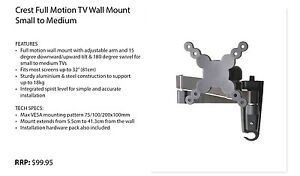 Crest TV wall mount Port Sorell Latrobe Area Preview