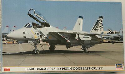 """F-14B, """"Tomcat"""", """"VF-143 Pukin' Dogs Last Cruise"""", Hasegawa, 1/72 gebraucht kaufen  Deutschland"""