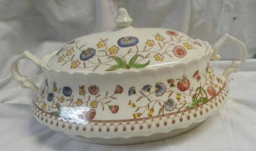 Vintage Vernon Kilns! Desert Bloom! Hand Painted 27 Piece Serving Place Setting!