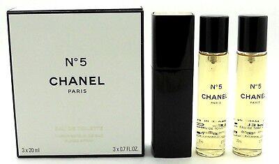 e9b0a17c 3 Chanel No 5 L eau Eau de Toilette Women Spray Travel Sample Vial 0
