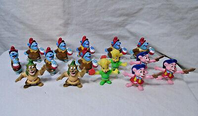 GUMMI BEARS * 1991 Kellogg * Disney-  Set of 15 - Toy Figure Lot