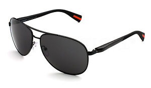NEW Netex Collection PRADA Mens Aviator Pilot Sunglasses PS 51OS 1BO 1A1 SPS 51O