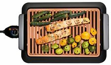 GOTHAM STEEL Smokeless Electric Grill Portable and Nonstick As Seen On TV, Large