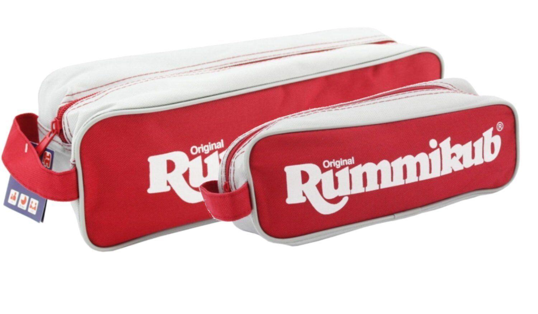 Jumbo Original Reise Rummikub in Tasche Legespiel Kinder Beste Taschen NEU