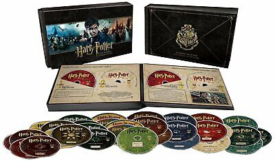 Harry Potter Hogwarts Collection (Blu-ray+DVD,31-Disc Set,8-Film/Movies) NEW comprar usado  Enviando para Brazil