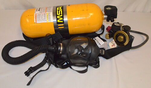 MSA Ultralite II Low Pressure SCBA Mask, Harness, Regulator & Tank *Used*