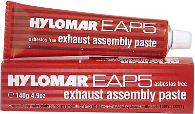 HYLOMAR EAP5 EXHAUST SYSTEM ASSEMBLY JOINTING PASTE SEALANT ASBESTOS FREE 140G