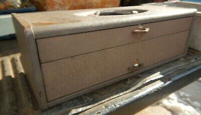 Vintage Kennedy Tc-20 2 Drawer Tackle Box Tool Box