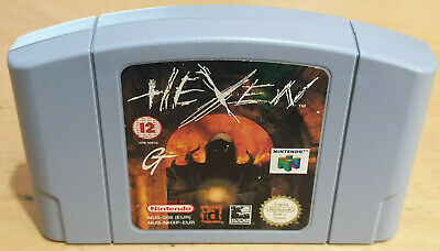 Hexen for Nintendo 64 N64 PAL Cartridge Only Tested