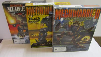 [Used] PC - MechWarrior IV Vengeance with Mercs and Black Knight