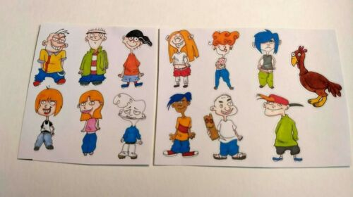 13 Ed Edd n Eddy Nickelodeon 90s anime fantasy stickers kawaii cartoon