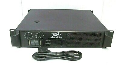 Peavey CS2000H  2000 WATT Professional Stereo Power Amplifier  segunda mano  Embacar hacia Mexico