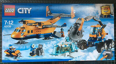 Lego 60196 City Arctic Supply Plane BNIB Great Condition