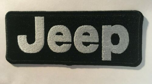 """Jeep patch jeep patch iron on or sew on Jeep embroidery JEEP patch 5"""" wide x 2"""""""