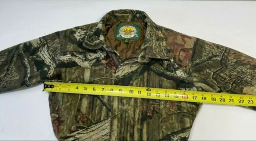 Cabelas Mossy Oak Infinity Camo Insulated Overall Hunting Suit Youth Kids S