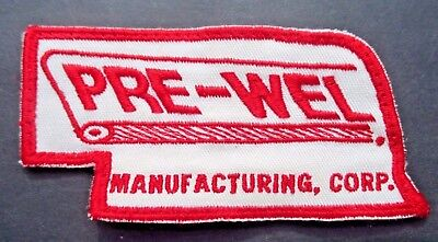 PRE WEL MANUFACTURING EMBROIDERED SEW ON PATCH FOOD EQUIPMENT OMAHA NE 4