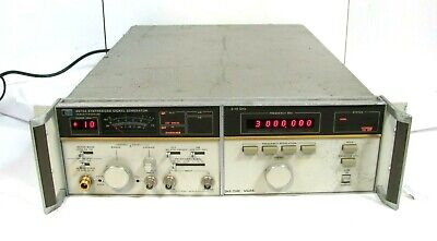 Hp Hewlett Packard 8672a Synthesized Signal Generator 2.0 - 18.0 Ghz Free Ship