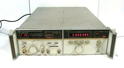 Hp Hewlett Packard 8672a Synthesized Signal Generator 2.0 - 18.0 Ghz Free Ship