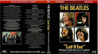 The Beatles – Let It Be PREMIUM COLLECTORS EDITION Vintage 1970 2 Blu-Ray DISCS