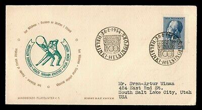 DR WHO 1954 FINLAND FDC IVAR WILSKMAN  C223664