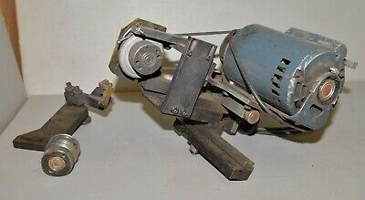 Vintage Spin Roll Rotary Grinding Fixture Tool Cutter Surface Grinder Shop Tool