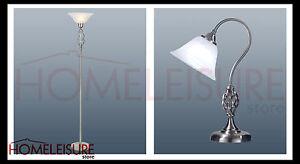 Classic-Barley-Twist-Standard-Floor-Table-Lamp-Murano-Glass-Shade-Satin-Chrome