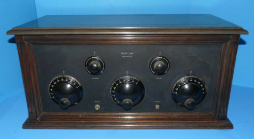 Gilfillan Neutrodyne Wood Tube Radio GN-5 c 1925