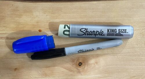 2 Sharpie Marker Stash Can Safe Hide Diversion Container - $10.00