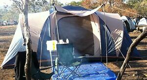Tent Coleman Sleeps 7 Good Condition Manoora Cairns City Preview