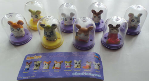 Hamtaro figure collection set of 8 capsule toys