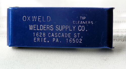 WYPO    Oxweld Tip Cleaners